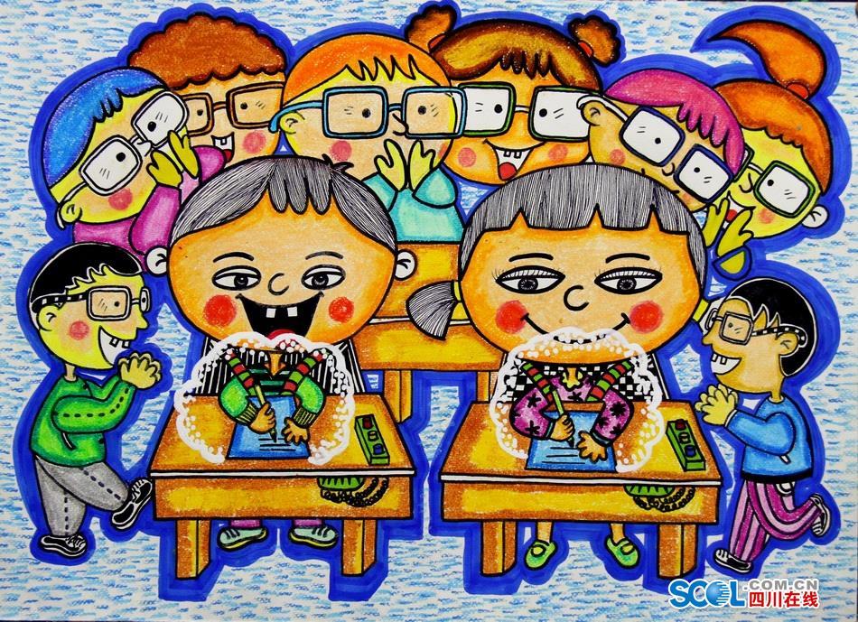 应桌椅》任治瞳二年级1班绵阳市一等奖指导教师:杜颖-东辰一小在