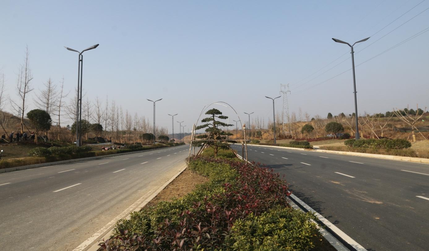 省道205线绵阳绕城(游仙段)一期工程完工