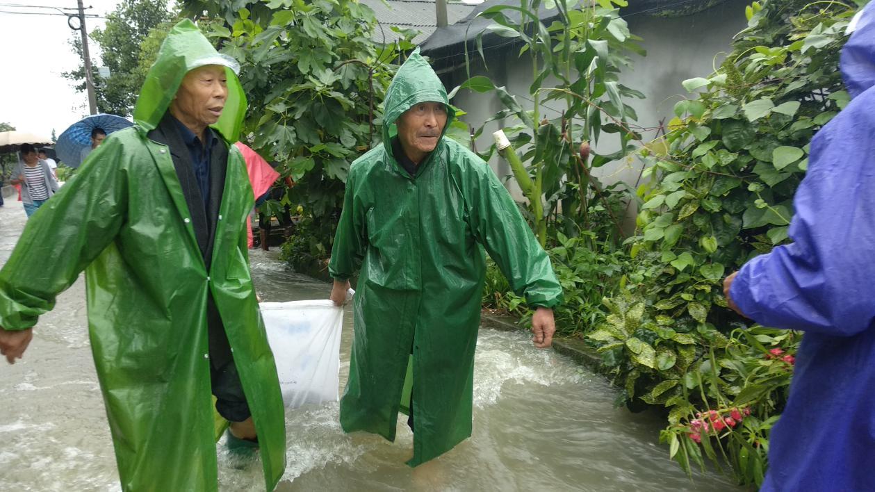 """""""零伤亡""""绵阳市安州区用3000干群身躯筑就坚固防洪堤"""